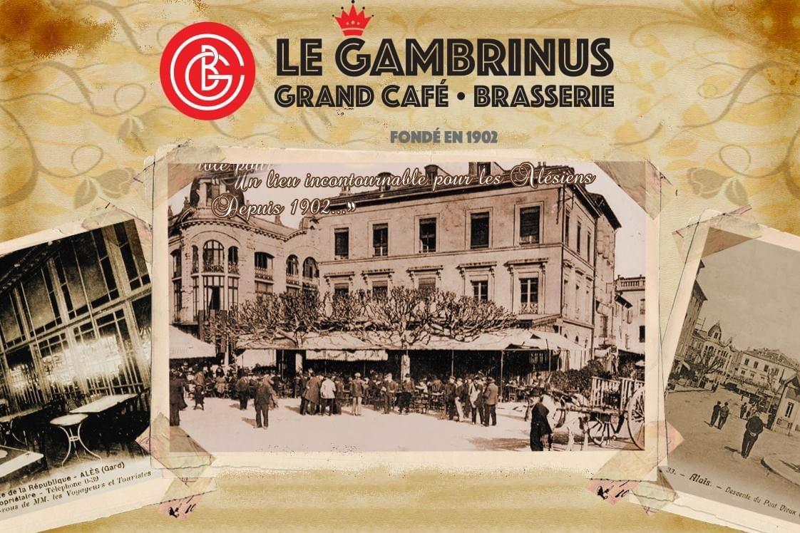 brasserie 'le grand café Gambrinus'