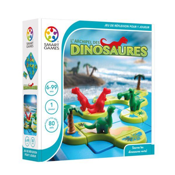 [La boite du jeu l'archipel des dinosaures de Smart Games]